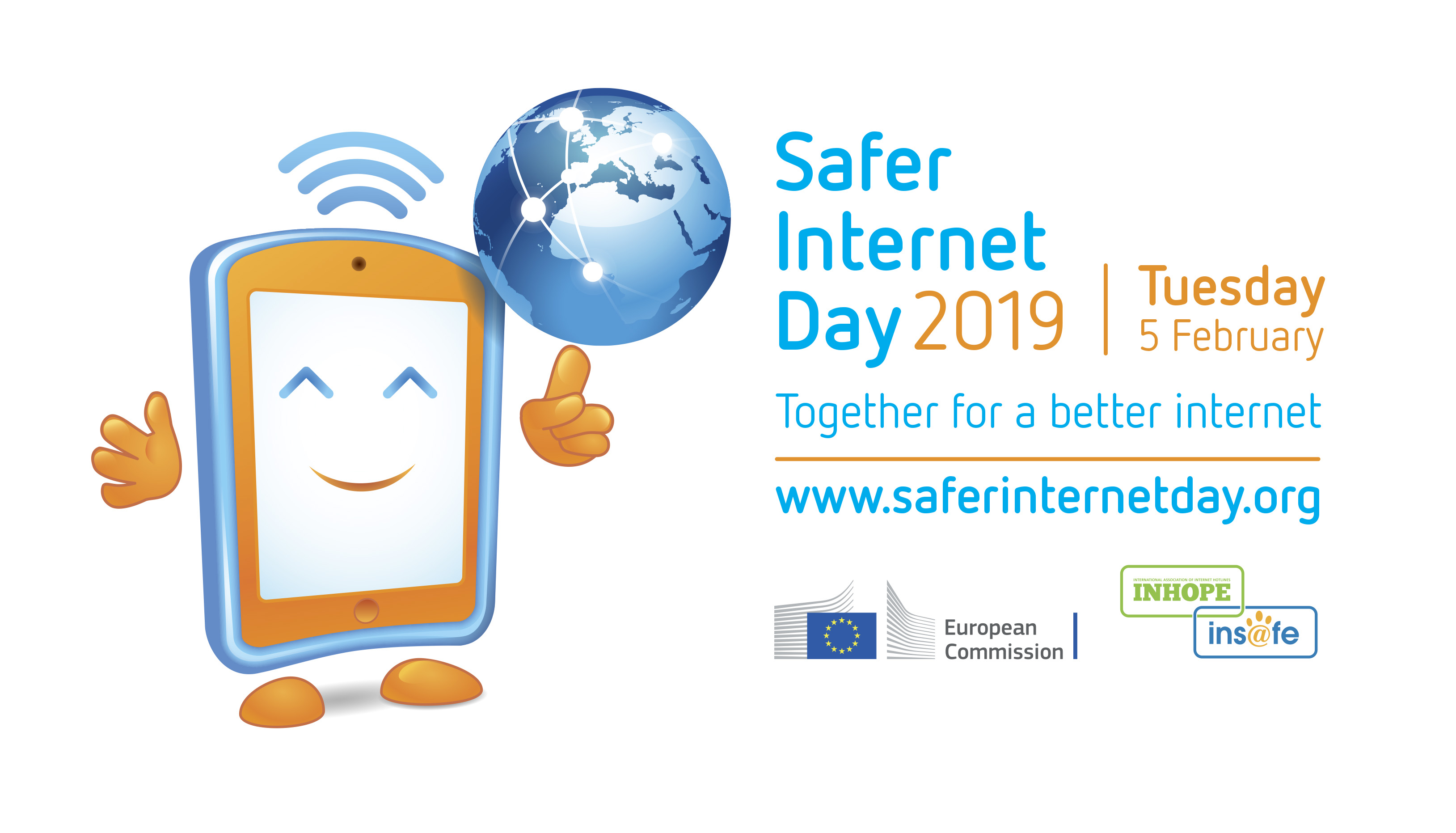 Safer Internet Day (SID) logo - Together for a better internet